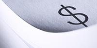money symbol on a keyboard